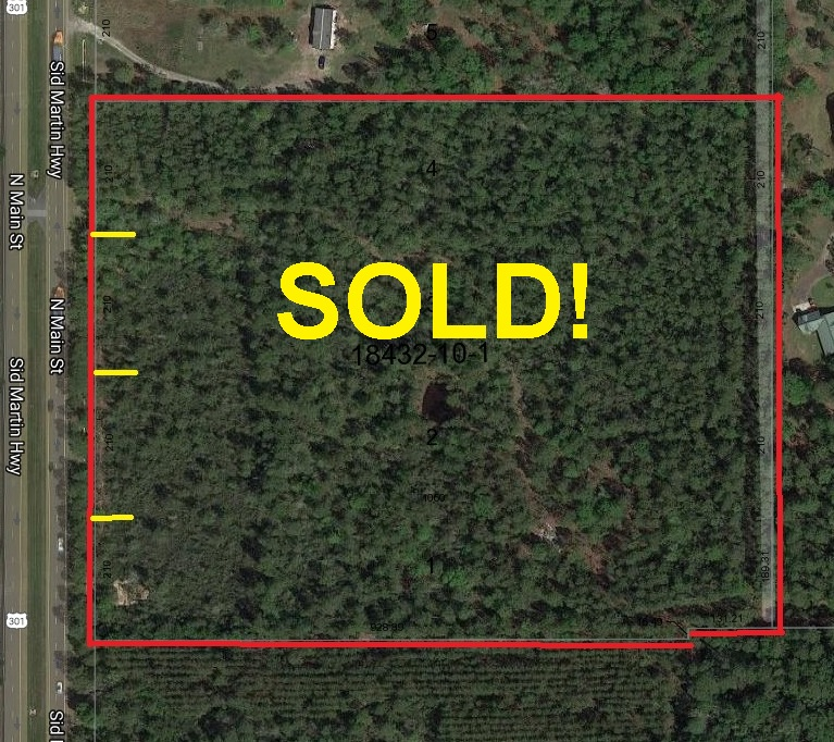 20 acres HWY 301 Waldo, FL SOLD!