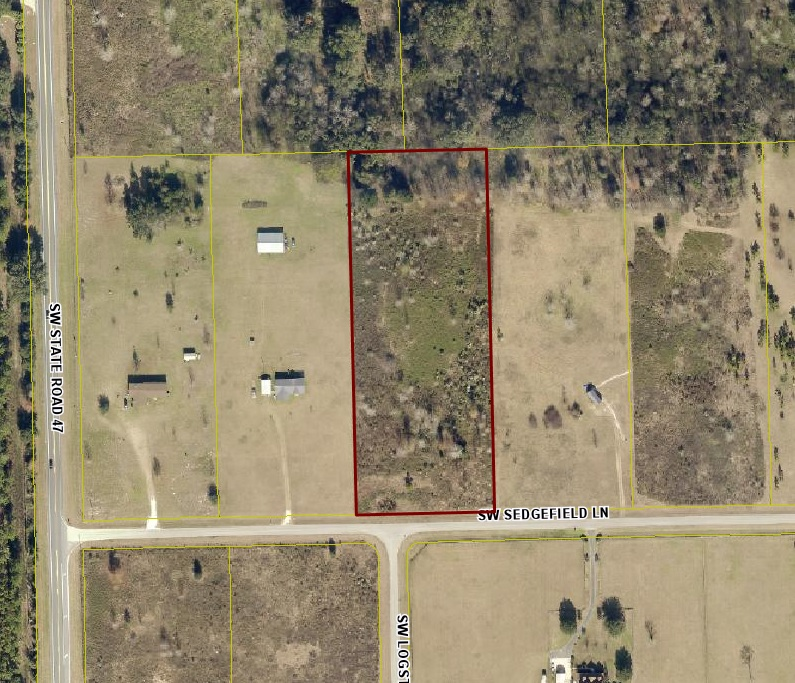 SOLD! Sedgefield 5 Acre Lot