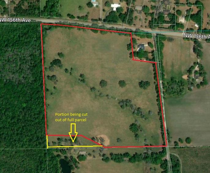 SOLD! 35 Acres N. Alachua County Florida